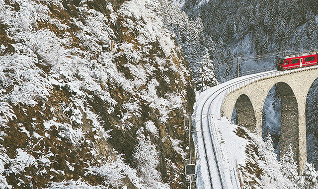 First direct freight railway line between Switzerland and China.