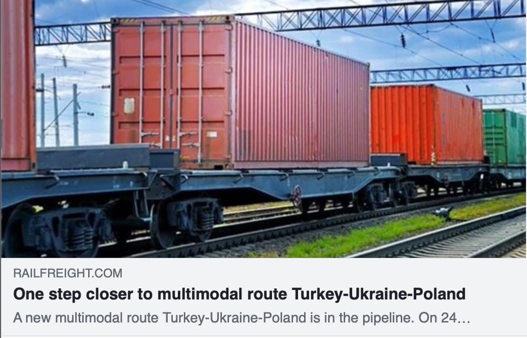 One step closer to multimodal route Turkey-Ukraine-Poland