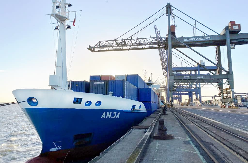 Record lead time for multimodal transport between Chengdu and Felixstowe, UK.
