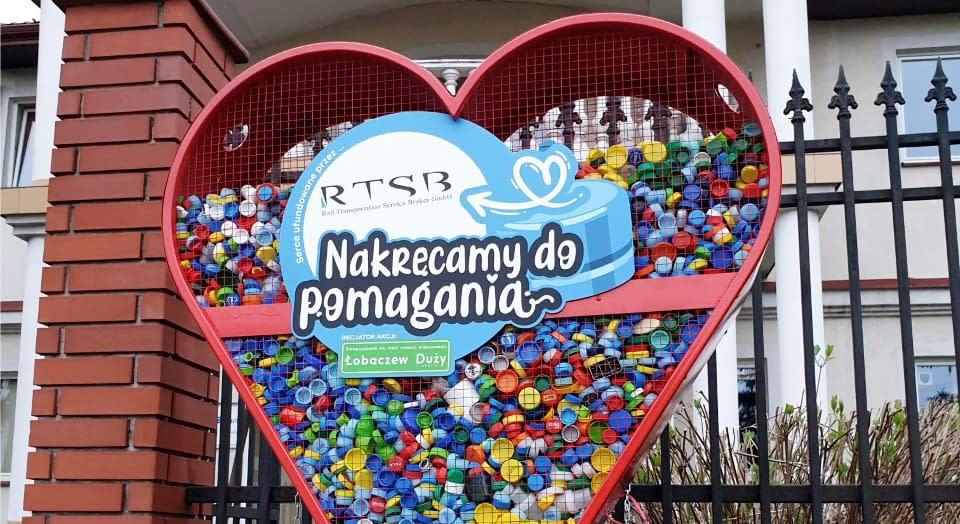 RTSB helps the association for the development of Łobaczew Duży and the surrounding area.