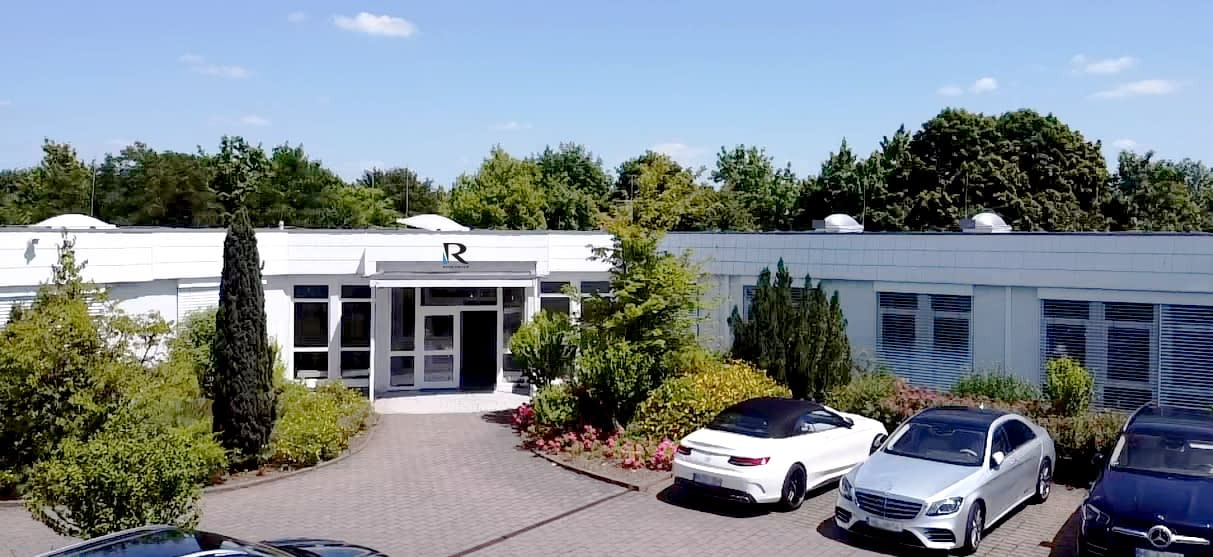 RTSB headquarters office in Friedrichsdorf main entrence