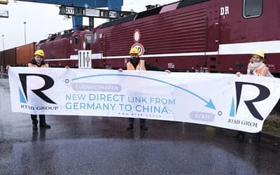 RTSB introduces new direct block train connection between Germany and China.