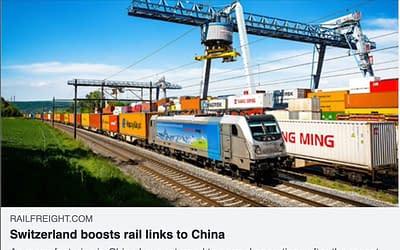 Switzerland boosts rail links to China